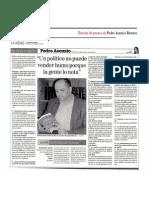 Entrevista en La Voz de Almería
