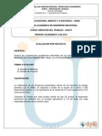 Evaluacion Por Proyecto - Medicion Del Trabajo A2012-02132012