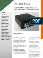 GT864 Quad Terminal Datasheet R1-1