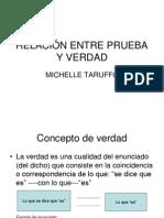RELACIÓN ENTRE PRUEBA Y VERDAD-DPC1 Tarufo