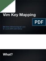Vim Key Mapping