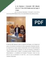 CEEI Albacete en el 7º Foro UCLM Empleo