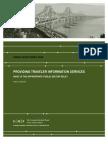 Providing Traveler Information Services
