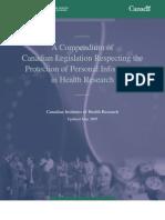 Ethics Privacy Compendium June2005 e