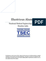 Illustrious Alumni from TSEC
