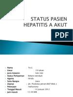 Status Pasien Hepatitis a Akut