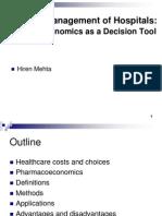 P-Economics in Hospital