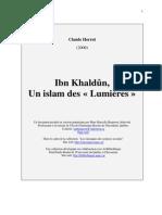 Ibn Khaldun Islam Des Lumieres