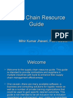 Supply Chain Resource Guide