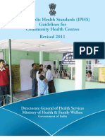IPHS Guidelines Health Centres