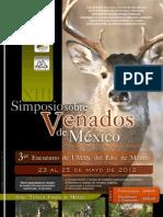 Programa XIII Simposio Sobre Venados de México