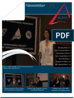 ALPFA Newsletter Spring 2012 No. 4