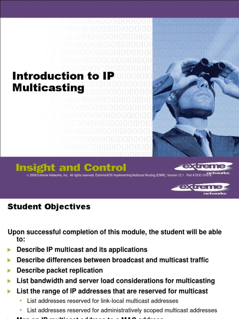 MOD1 Intro Multicast   Ip Address (23 views)