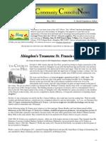 Abingdon Newsletter
