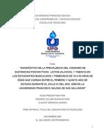 TESIS SUSTANCIAS PSICOAGNTIVAS
