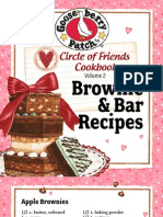 25 Brownie & Bar Recipes by Gooseberry Patch