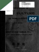 Beginning of Hindu Culture as World Power