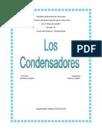 CONDENSADORES ELÉCTRICOS