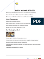 Thanksgiving Reading Comprehension (1)