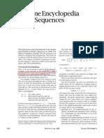 Integer Sequences