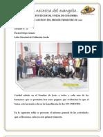 Informe Población Sorda - Primer Trimestre - Distrito 21