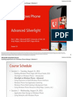 Advanced Silverlight