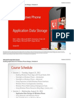 Application Data Storage