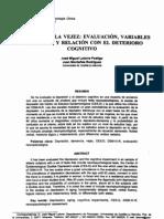 Depresion en La VejezVol. 2. N3, Pp. 243-264, 1997