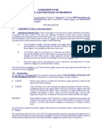 Land Purchase Agreement