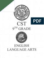 CST 9th Grade English Practice Test