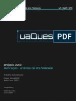 Prototipo Alta Fidelidade - Projecto uaQuest