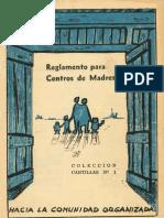 Historia de los centros de madres en Chile