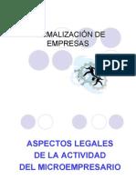 Clase 3 Formalizacion empresas