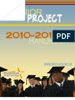 2010-2011 Senior Project Handbook