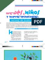 Bebés, niños y nuevas tecnologías - Magazine Baby Deli Abril