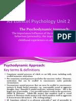 As Psycho Dynamic Approach 09