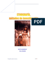 Etnografia metodos de investigación