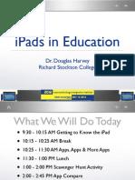 iPad NJEA Kean