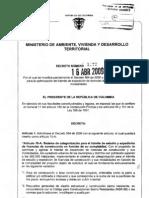 DECRETO 1272 DE 2009