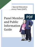 Advisory Panel Booklet