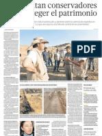 Se necesita conservadores para proteger patrimonio de Perú