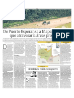 Ruta en Amazonía afectará a bosques y indigenas