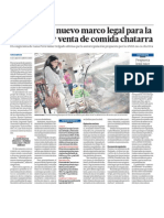 Perú regula el marketing de comida chatarra