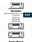 BlackStar Meteor 600 Service Manual