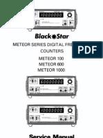 BlackStar Meteor 600 Service Manual