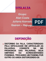 DISLALIA