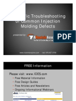 Troubleshooting for Injection Molding by IDES