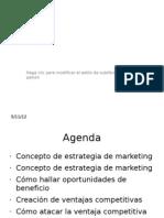 Clase Introductoria a Estrategia de Marketing