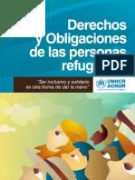 Derechos y Obligaciones de las Personas Refugiadas en el Ecuador
