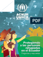 Protegiendo a las Personas Refugiadas en el Ecuador